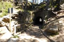 Túnel del Circuito de las Fonts.