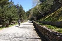 El camino de las Pardinas.