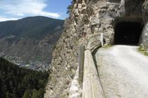 Túnel de las Pardines.