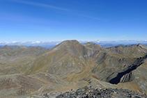 El pico de la Serrera (2.913m).