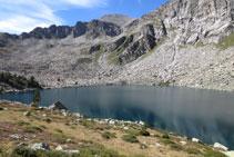 Lago Gémena de Dalt.