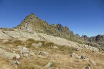 Pico de Ruf desde el collado del Alba.