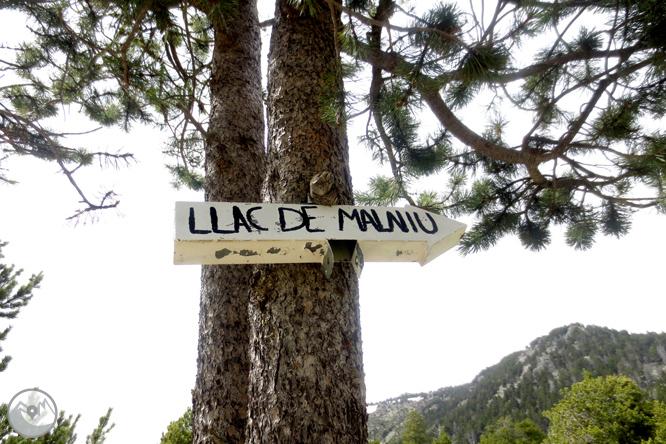 Ruta al lago de Malniu 1