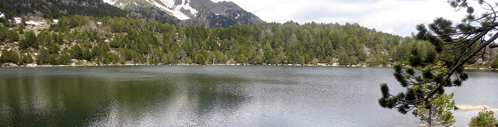 Ruta al lago de Malniu