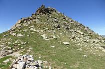 Cima del pico del Aspra.