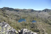 Espectacular paisaje del circo de Ensagents desde el pico del Aspra.