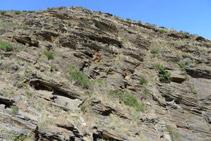 Formaciones rocosas características de esta zona.