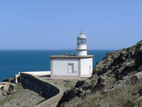 Faro de Cala Nans desde Cadaqu�s