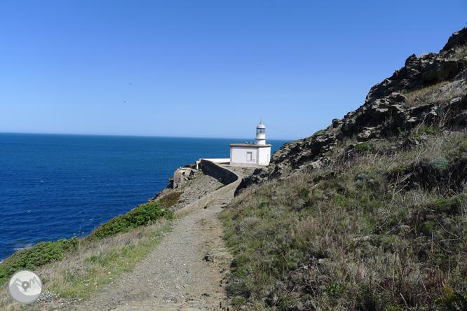 Faro de Cala Nans desde Cadaqués 1