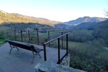 Mirador en el extremo S del vecindario de la Roca.