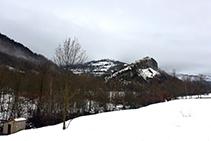 La Roca en invierno.
