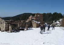 Masía abandonada Casa Ferrús, un lugar de notable interés.