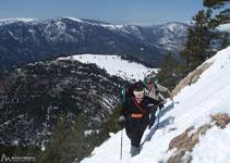 Ganamos altitud, las vistas son cada vez más espectaculares.