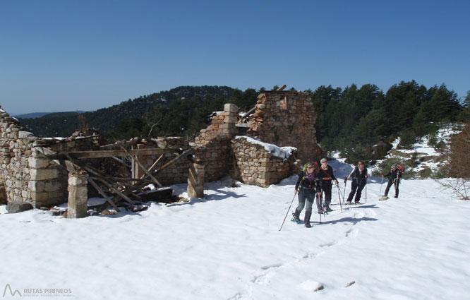 Gallina Pelada (2.317m) por Peguera 1