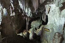Grotte des Lacs, final del recorrido.