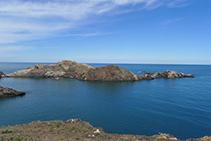 Roca de S´Encalladora, cerca de la punta del Cabo de Creus.