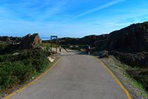 Camino de acceso al Paraje de Tudela.