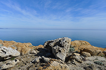 El mar Mediterráneo es protagonista durante la primera etapa de la Transpirenaica.