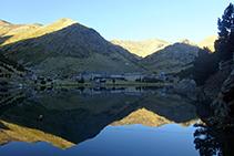 Lago de Nuria.