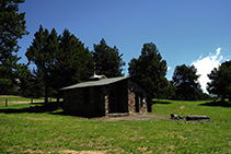Refugio libre de Pimes.