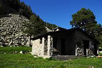 Refugio de Riu dels Orris.