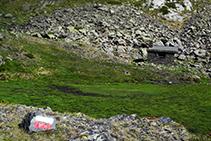 Refugio de la Angonella.