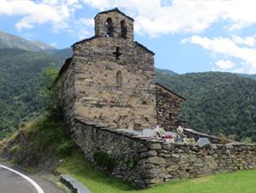 Iglesia de Sant Serni de Nagol en San Julián de Loria