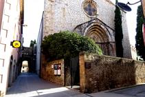 Iglesia de la Mare de Déu del Carme y portal del Comte.