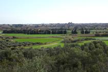 El paisaje de Peralada.