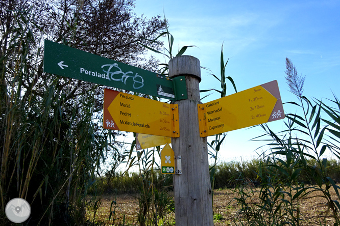 Itinerario circular de Peralada a Cabanes 1
