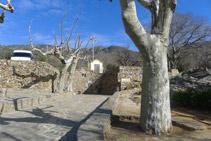 La Font de Dalt, situada justo por debajo del aparcamiento.