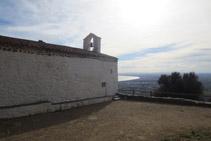 Ermita de Sant Onofre, situada en un lugar privilegiado.
