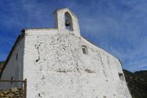Parte delantera de la ermita de Sant Onofre.