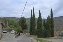 Seguimos por la calle Ciutat unos 200m hasta la Font de Dalt.