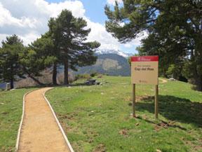 Itinerario adaptado hasta el mirador del Cap del Ras