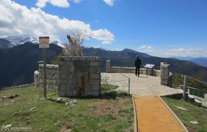 Itinerario adaptado hasta el mirador del Cap del Ras 1