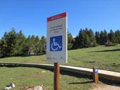 Itinerario adaptado hasta el mirador de Els Orris