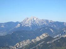 El Pedraforca (2.497m) desde el Mirador dels Orris.