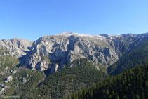 La Tosa (2.536m), en el extremo oriental de la sierra del Cadí.