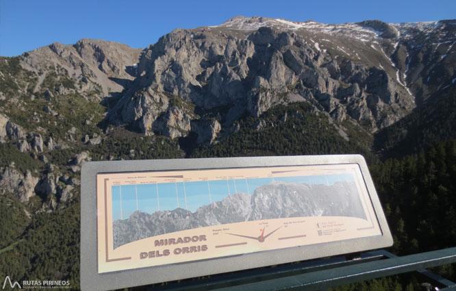Itinerario adaptado hasta el mirador de Els Orris 1