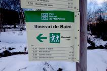 El itinerario que seguiremos en todo momento.