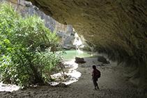 Espectacular gruta.