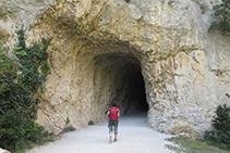 Entrada del segundo túnel.