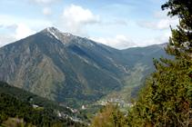 Pico de Carroi, Obac de Sispony y collado de Muntaner.