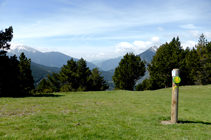 Señalización del Camino Interparroquial del Tomb de les Neres.