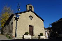 Iglesia de Sant Ermengol de la Aldosa.