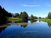 La mina Victoria y el lago de Arres