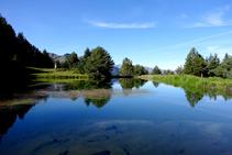 Lago de Arres -la <i>bassa d´Arres</i>-.