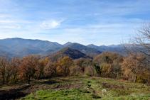 Sierras de Santa Magdalena y de Puig de Estela.