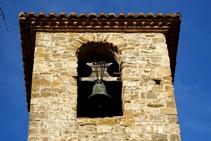 Detalle del campanario de Sant Andreu.